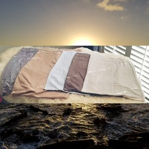 5 multi sized pillow cases